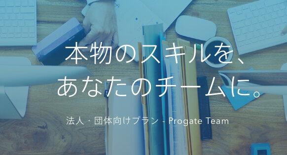 法人・団体向けプラン ProgateTeam